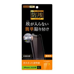 レイアウト iPhone 12 Pro Max 6.7インチ対応フィルム 指紋防止 光沢 RTP28FA1