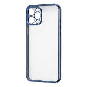 レイアウト iPhone 12 Pro Max Perfect Fit ブルー RTP28PFC2AM
