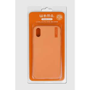 コスモテック wemo ウェアラブルメモ ケースタイプiPhone X/XS用 コーラルレッド WEMO_CCR_XXS