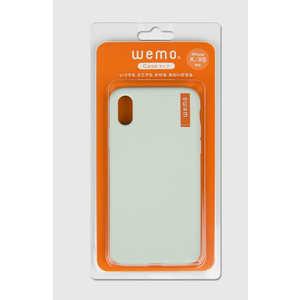 コスモテック wemo ウェアラブルメモ ケースタイプ (iPhone X/XS用・ペールグリーン) ペールグリーン WEMO_CPG_XXS