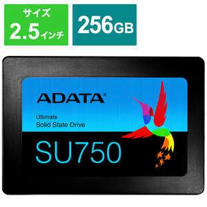 ADATA 内蔵SSD SATA6Gb/s 3DTLC 7mm [2.5インチ /256GB] ASU750SS256GTC