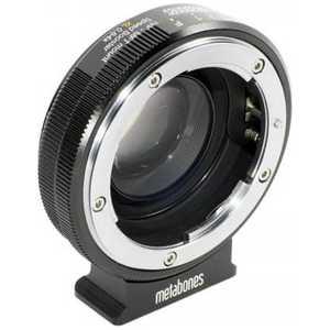 METABONES マイクロフォーサーズ用Nikon Gレンズ SpeedBooster XL0.64x ブラック MB_SPNFGM43BM2