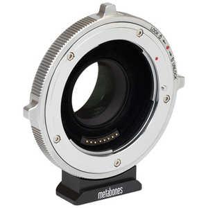 METABONES マウント(ボディ側:BMPCC4K/レンズ側:Canon EF)・Speed Booster XL 0.64x ・フルフレームレンズ専用・電子接点付き・CINEシリーズ・T(フロック加工) ブラック MB_SPEFM43BTB
