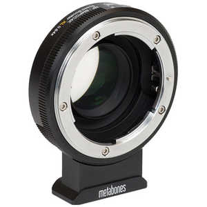 METABONES Mマウント(ボディ側:BMPCC4K/レンズ側:Nikon G)・Speed Booster ULTRA 0.71x ・APS-Cレンズ専用・ブラック MB_SPNFGM43BM4
