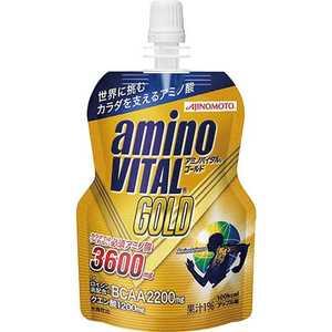 味の素 アミノバイタル amino VITAL GOLD ゼリー「アップル風味/135g」 36JAM56000