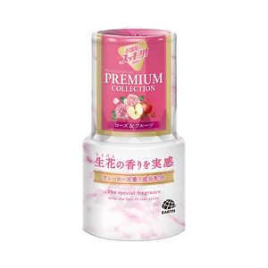 アース製薬 お部屋のスッキーリ! Sukki-ri! プレミアム ローズ&フルーツの香り 400ml オヘヤスッキーリPRフルツ