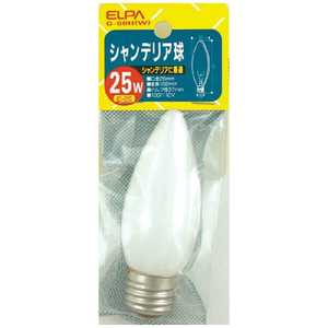 ELPA シャンデリア E26Gー60H(W) G60HW