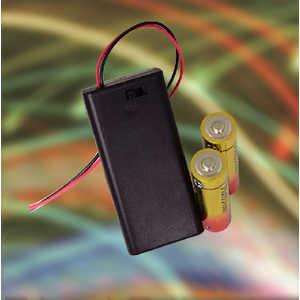 ELPA スイッチ&カバー付電池ボックス 単3形 2本 UMSC32NH