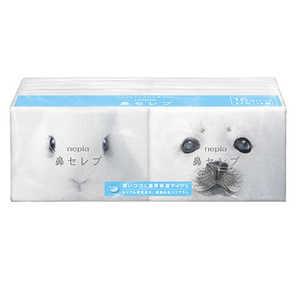 ネピア 鼻セレブ ポケットティシュ 1パック(16個入) 製品画像