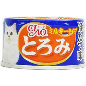 いなばペットフード チャオ CIAO とろみ ミルキータイプ まぐろ・ささみ ほたて味 80g A-111 猫 A111トロミミルキマグロホタテ