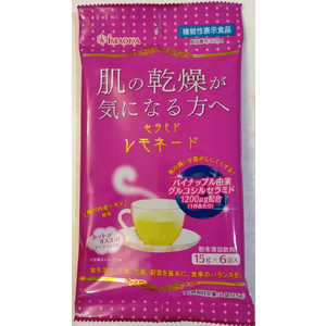 今岡製菓 セラミドレモネード(15g×6袋)[機能性表示食品] 15gx6袋 セラミドレモネード15GX6フクロ