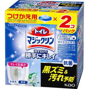 トイレマジックリン 流すだけで勝手にキレイ ライトブーケの香り つけかえ用 2個パック 80g×2個