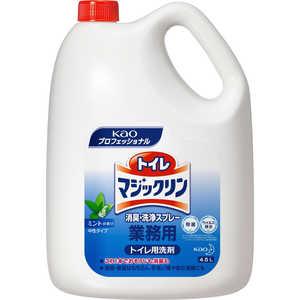 トイレマジックリン 消臭・洗浄スプレー ミントの香り 業務用4.5L