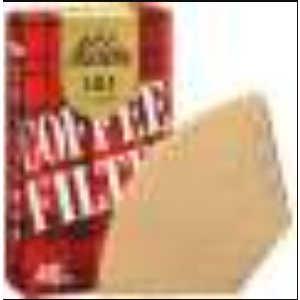 カリタ コーヒーフィルター 101濾紙 ブラウン 40枚入 ミサラシ101ロシ