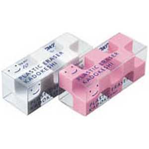 コクヨ [消しゴム] カドケシプチ ピンク・ホワイト2色セット シロ・ピンク ケシU7502