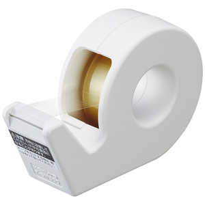 コクヨ [テープカッター]カルカット ハンディタイプ 小巻き 白 TSM300W