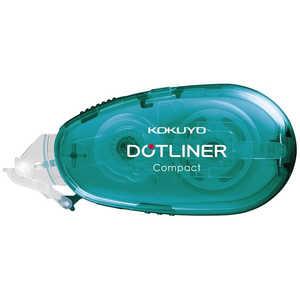 コクヨ [テープのり]ドットライナーコンパクト 本体 プリント貼り用 青 タDM452008B