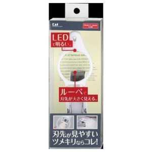 貝印 LEDルーペ付ツメキリ(衛生用品) LEDルーペツキツメキリ