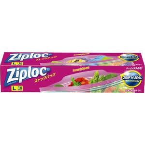 旭化成ホームプロダクツ Ziploc(ジップロック)ストックバッグ L 16枚 L16枚 ZLストックBL16