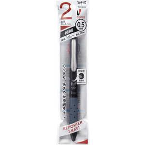 トンボ鉛筆 2色ボールペンWRLEブラックパック ブラック FCD122A