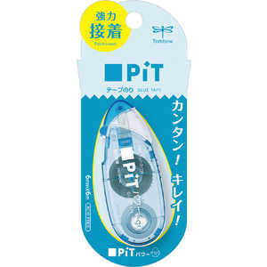 トンボ鉛筆 テープのりピットパワーエッグソーダ PNEPC40