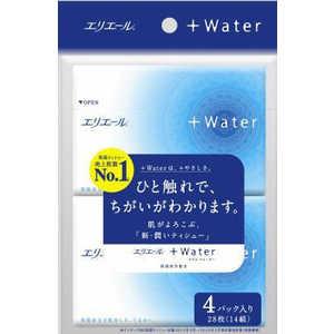 エリエール+Water ポケット 4パック 製品画像