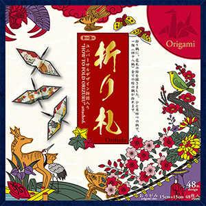 トーヨー 折り札 48色入り(15cm×15cm・48枚) 006201