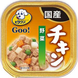 日本ペットフード ビタワン グー チキン 野菜 100g 犬 Vグーチキンヤサイ100G