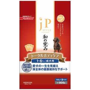 日清ペットフード ジェーピースタイル JPドライDOG 成犬用 900g〔ペットフード〕 JPスタイルコツブセイケン900G