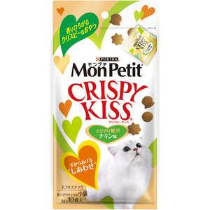 ネスレ日本 「モンプチ」クリスピーキッス とびきり贅沢チキン味 3g×10袋入 猫 MPクリスピーキッスチキン30G