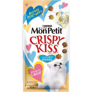 ネスレ日本 「モンプチ」クリスピーキッス とびきり贅沢おさかな味 3g×10袋入 猫 MPクリスピーキッスオサカナ30G