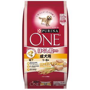 ピュリナ ワン ほぐし粒入り 1〜6歳 成犬用 チキン 4.2kg