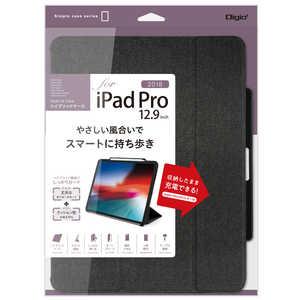 ナカバヤシ iPadPro12.9inch(2018)用ハイブリッドケース ブラック TBCIPP1815BK