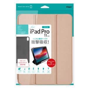 ナカバヤシ iPadPro11inch(2018)用 ハニカム衝撃吸収ケース ピンク ピンク TBCIPP1804P