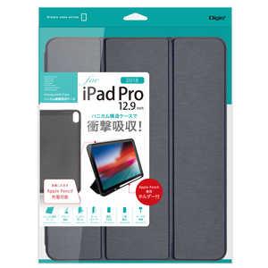 ナカバヤシ iPadPro12.9inch(2018)用 ハニカム衝撃吸収ケース ネイビー ネイビー TBCIPP1814NB