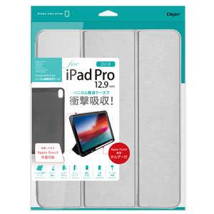 ナカバヤシ iPadPro12.9inch(2018)用 ハニカム衝撃吸収ケース シルバー シルバー TBCIPP1814SL