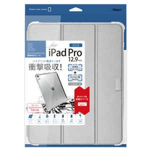 ナカバヤシ iPadPro12.9inch(2018)用衝撃吸収ケース シルバー シルバー TBCIPP1812SL