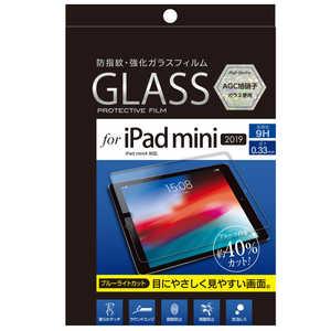 ナカバヤシ Digio2 「ガラス」iPadmini(2019)用ガラスフィルム 光沢ブルーライトカット ガラスフィルム TBFIPM19GFLKBC