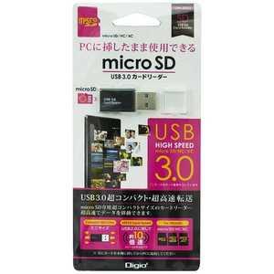 Digio2 CRW-3SD63BK [USB microSD ブラック]