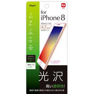ナカバヤシ iPhone8用 液晶保護フィルム 光沢 SMFIP172FLK