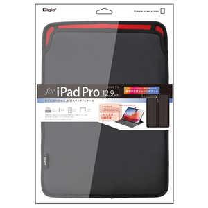 ナカバヤシ iPadPro12.9inch(2018)用スリップインケース ブラック ブラック TBCIPP1813BK