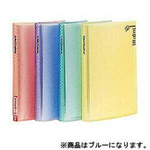 ナカバヤシ ミニホルダー「プチクルールA6」(A6判/1段ポケット) ブルー HCCA6B