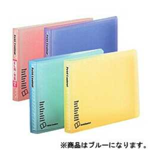 ナカバヤシ ミニホルダー「プチクルールB7」(B7サイズ/1段ポケット) ブルー HCCB7B