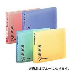 ナカバヤシ ミニホルダー「プチクルールB8」(B8サイズ/1段ポケット) ブルー HCCB8B