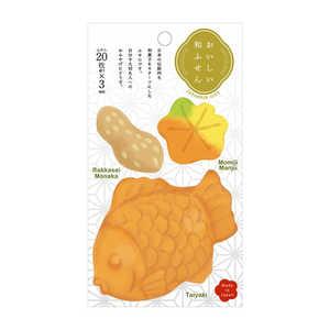 ナカバヤシ おいしい和ふせん たいやき FST0051