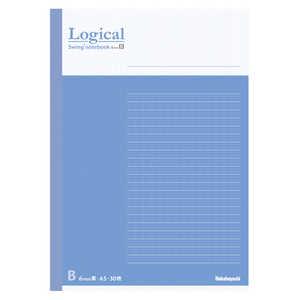 ナカバヤシ [ノート] スイング・ロジカルノート (A5 /30枚 /ロジカル B罫 6mm 30行) COCノA501B ブルー ブルー COCノA501B