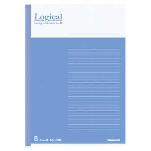ナカバヤシ [ノート] スイング・ロジカルノート (B6 /40枚 /ロジカル B罫 6mm 26行) ブルー COCノB601B