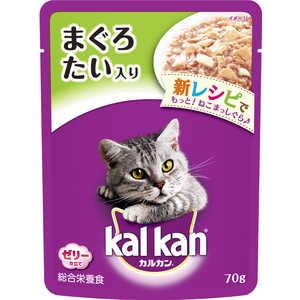 マースジャパンリミテッド カルカンデリカ 1歳 たい 70g 猫 KWP2マグロタイ70G