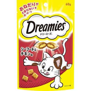 マースジャパンリミテッド ドリーミーズ シーフード&チキン味 60g 猫 DRE3シーフードチキン