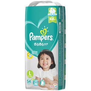 P & G Pampers(パンパース) さらさらケア テープ スーパージャンボ Lサイズ(9kg-14kg) 54枚〔おむつ〕 パンパースSケアTSJL54